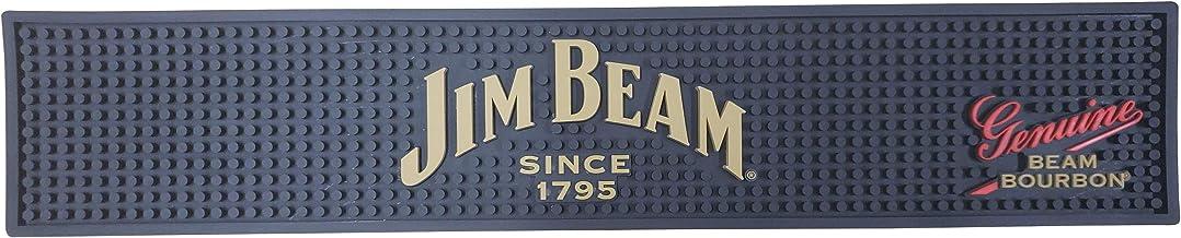"""Jim Beam Since 1795 Bourbon Bar Mat Spill Mat Rail Drip Mat - 19.5"""" x 3.75"""""""