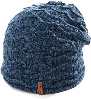 5ee85b99ba37d SIGGI 100% Wool Slouch Beanie Hat Unisex Winter Hat Women Men Warm Soft  Lined 55
