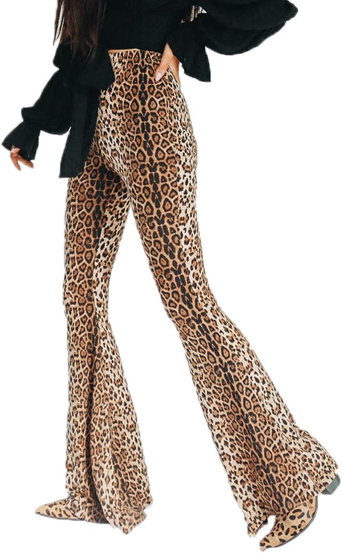 Janira Elegante Legging Pantalon Jaguar Imprimé Léopard Noir//Vert Neuf