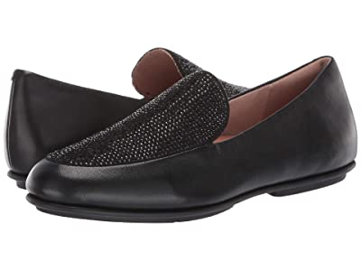 FitFlop Lena Crystal Loafers (All Black) Women