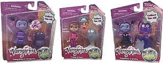Disney Junior Vampirina Ghoul Glow Figure Set Bundle with Vampirina & Gregoria, Poppy & Demi, and Vampirina & Wolfie