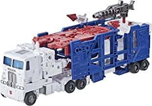 Transformers Toys Generations War for Cybertron: Kingdom Leader WFC-K20 Ultra Magnus Action Figure - Kids Ages 8 and Up, ...