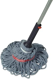 Rubbermaid Self-Wringing Ratchet Twist Mop with Blended Yarn Head, 54-inch (1818664)