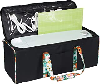 Everything Mary Collapsible Die-Cutting Machine Carrying Case - Craft Bag Compatible with Cricut Air/Maker & Brother ScanNCut DX - Cutting Machine Storage Bag for Vinyl, Tools, Pens, Accessories