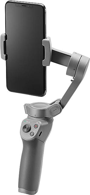 DJI Osmo Mobile 3 Estabilizador de 3 Ejes para Smartphone Compatible con iPhone y Smartphone Android diseño Ligero y Portátil grabación Estable Control Inteligente