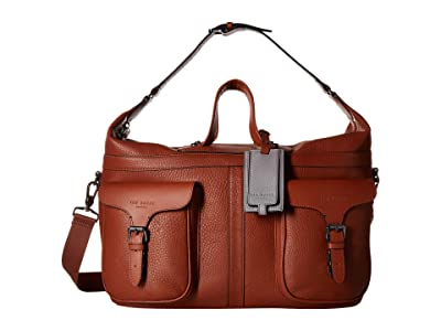 Ted Baker Gansu Fashion Leather Holdall (Tan) Duffel Bags