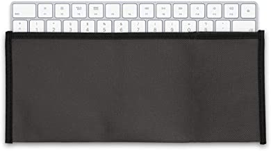 kwmobile Keyboard Cover for Apple Magic Keyboard - Protective Skin Computer Keyboard Dust Cover Case - Dark Grey