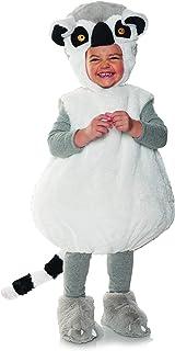 زي تنكري للأطفال الرضع على شكل ذيل حلقة ليمور مصنوع من القطيفة للأطفال من أنديروارب
