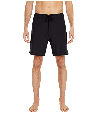 Hurley 18 Phantom One Only Boardshorts (Black) Men