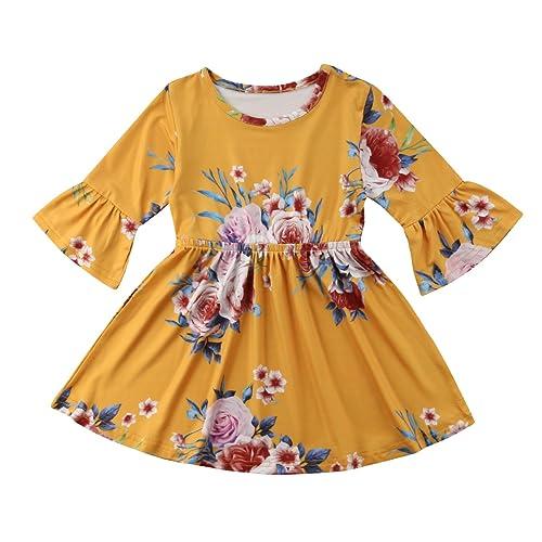 Fall Toddler Dress Amazon Com