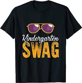 Kindergarten Swag Sunglasses Back To School T-Shirt