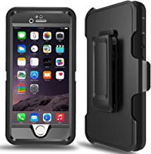 MBLAI Defender Series Case for iPhone 6 Plus,iPhone 6s Plus Case Built-in Screen Protector 4 Layers Rugged Rubber Shockproof with Belt-Clip Case Cover for iPhone 6 Plus/ 6S Plus [5.5 inch]