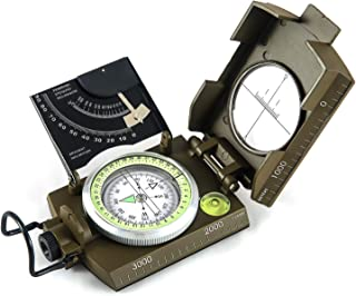 Best eyeskey multifunction military army sighting compass with inclinometer Reviews