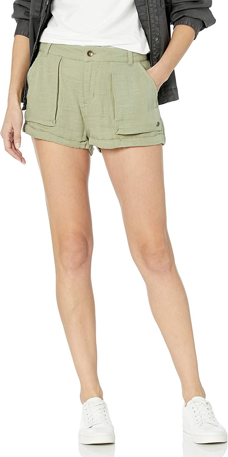 Roxy Women's South Direction Shorts Limited Special Price Cargo Cotton Sale special price