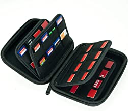 Large Capacity 63 Slots Storage Case Holder for SD Memory Cards, Switch Game Cartridges, PS Vita Game and Micro SD Cards