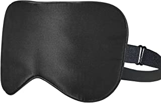ykooe Sleep Mask, Ultra Soft Skin-Friendly Pure Natural Blindfold Silk Fabric Comfortable Sleeping Eye Mask with Adjustabl...