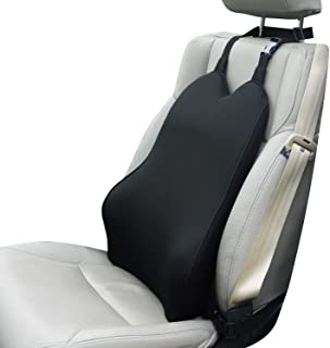 Dreamer Car Lumbar Support for Car Seat Driver- Supportive and Comfortable Memory Foam Back Cushion Back Support for Car f...