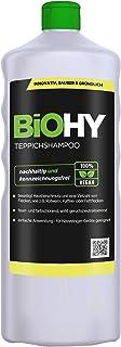 BiOHY Alfombra - Champú (1 botella de 1 litro) | Limpiador de alfombras ideal para eliminar manchas difíciles | ESPECIAL DESARROLLADO PARA LAVAR LIMPIADORES DE VACÍO (Teppichshampoo)