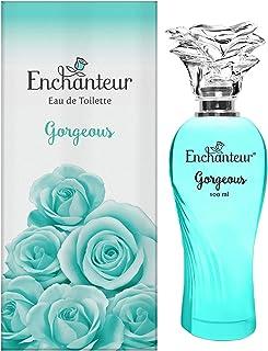 Gorgeous by Enchanteur Eau De Toilette Perfume for Women, 100 ml