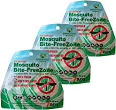 GREENERWAYS ORGANIC Mosquito Repellent Zone - New Improved Formula, Non-Toxic Natural Backyard Insect Repellent Outdoor Mosquito Repellant Pest Control, DEET-Free Safe for Kids, Babies, Dogs (3 Pack)
