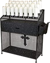church votive candle stands
