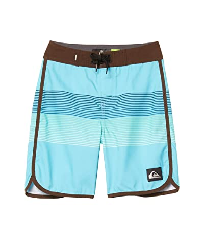 Quiksilver Kids Everyday Grass Roots 17 Boardshorts (Big Kids) (Pacific Blue) Boy