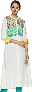 SOCH Women's Rayon a-line Kurta