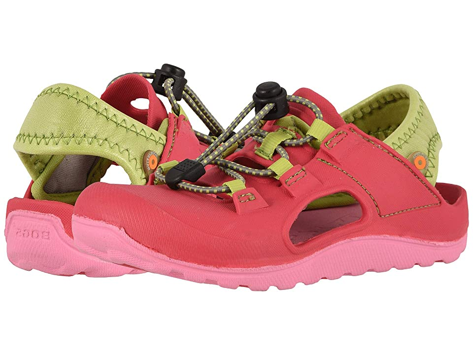 Bogs Kids Flo Sandal (Toddler/Little Kid) (Pink Multi) Girls Shoes