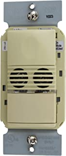 Wattstopper Occupancy Sensor DW-100-I Dual Tech Wall Switch PIR, Ivory