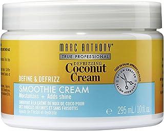 Marc Anthony Defrizzing Coconut Cream Curls Define & Defrizz Smoothie Cream, 9.97 Ounces