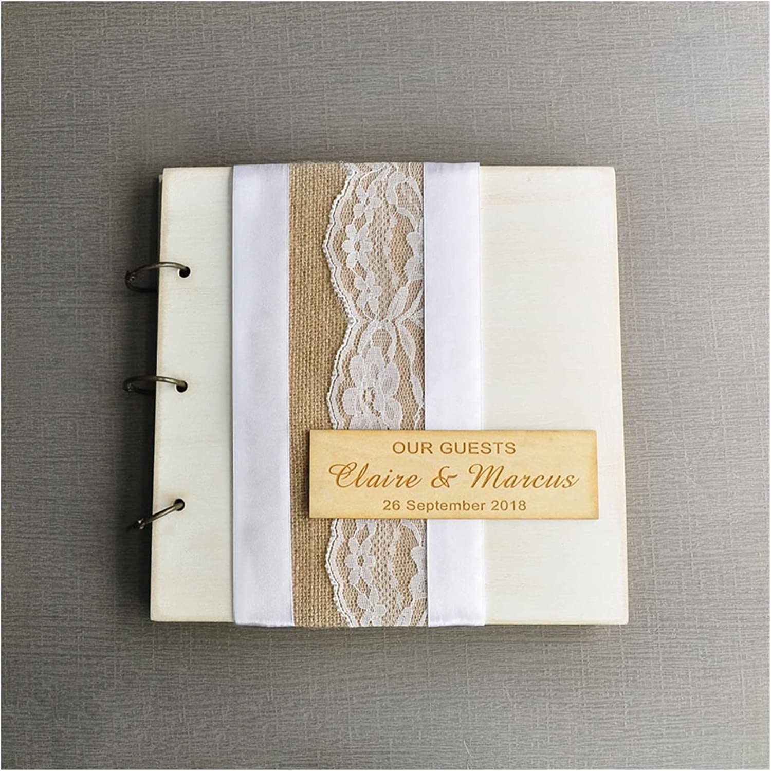 HUMINGG Houston Mall Wedding Guest Book Guestbook Atlanta Mall Vintage Guests Our