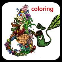 recolor : coloring book for me & mandala