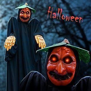 BenefitUSA ZH0071 Hanging Halloween Ghost Decoration, Black