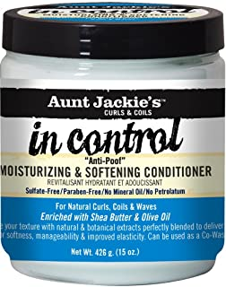 Aunt Jackie's in Control Anti - Poof Moisturizing & Softening Conditioner 450 ml (Pack of 2) by Aunt Jackie