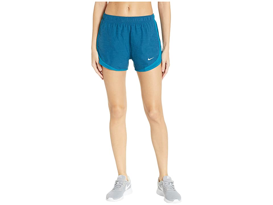 Nike Dry Tempo Short (Green Abyss/Green Abyss/Wolf Grey) Women