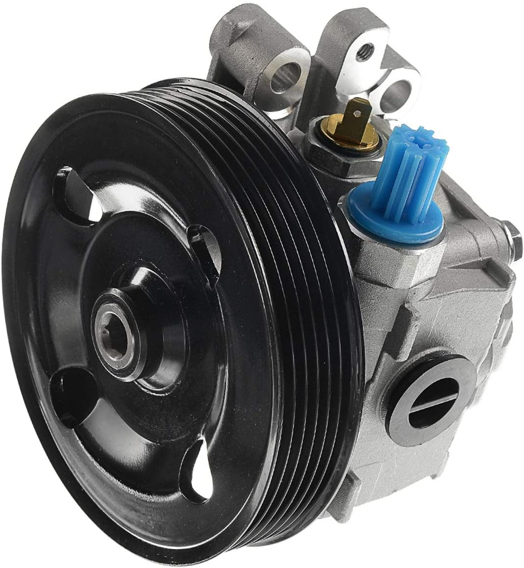 A-Premium Power Steering Max 46% OFF Pump Mazda Indianapolis Mall with Compatible Pulley