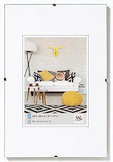 Walther Design Porta imágenes sin Marco Fotos, Vidrio Transparente, 50x70 cm