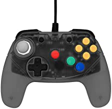Retro Fighters Brawler64 Next Gen N64 Controller Game Pad - Nintendo 64 – Smoke Gray