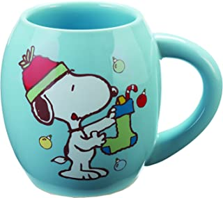 snoopy holiday mug