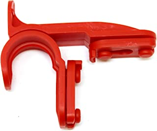 New Plastic Latch Set Kit for Solar Group Standard Mailbox Repair Latch Kit (1, Red)
