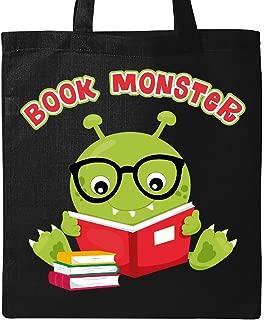 Inktastic Book Monster Boy Tote Bag