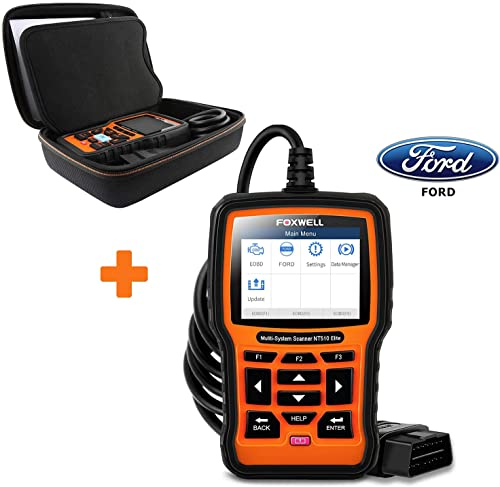 discount FOXWELL discount OBD2 Scanner Case and NT510 Elite Full System online Scan Tool for Ford sale