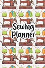 Sewing Planner: My Sewing Project Log Book Journal,Sewing Journal Planner & Sewer's Notebook to Record Your Sewing Creatio...