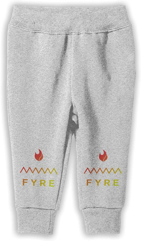 RUIANSHISHENGYOUDA Fyre Festival Girl Child Cotton Sweatpants