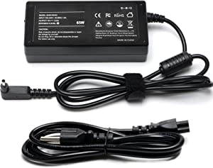 19V 3.42A 65W AC Adapter Charger Replacement for Acer Chromebook 11 C720 C720P C730 C730E C738T C740 CB3 CB5 C720-2420 C720-2800 C720-2802 C720-2827 C720-2844 C720-2848 C720-3404 Power Cord