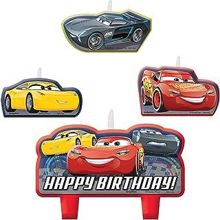 Cars 3 Birthday Candle Set