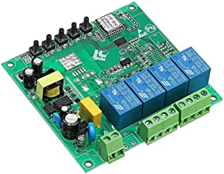 AC 220V 10A Controle Smart Switch Point Afstandsbediening 4 Kanaal WiFi Module zonder Shell Motorfiets Deel