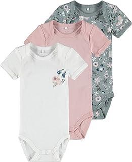 NAME IT Conjunto de ropa interior para bebés y niños pequeños