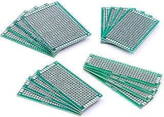 AZDelivery Set Prototipo 16 Placas Doble Cara Universal PCB para Arduino con E-book incluido!