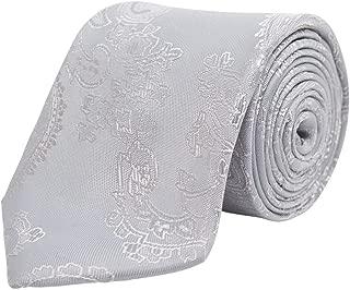 Dobell Corbata plateada estampada para niños: Amazon.es: Ropa y ...